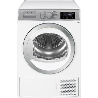 SMEG DHT91LUK 9 kg Heat Pump Tumble Dryer - White, White