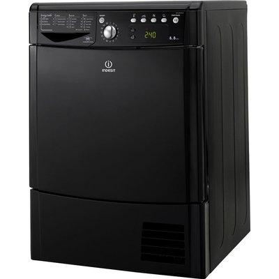 Indesit Tumble Dryer IDCE8450BK Condenser  - Black, Black
