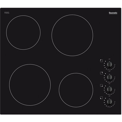 5055205056531 | Baumatic BHC602 electric hobs  in Black