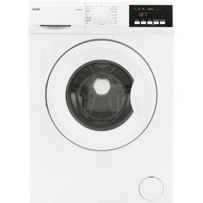 LOGIK L814WM20 8 kg 1400 Spin Washing Machine - White, White
