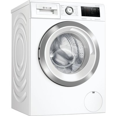 BOSCH Serie 6 WAU28R90GB 9 kg 1400 Spin Washing Machine - White, White