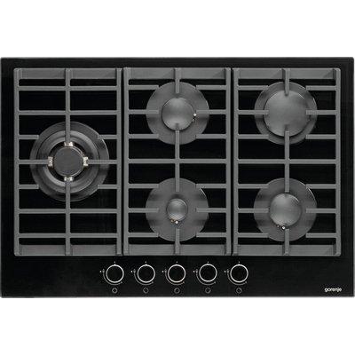 GORENJE  GW761UX Gas Hob   Stainless Steel  Black - 3838942928741