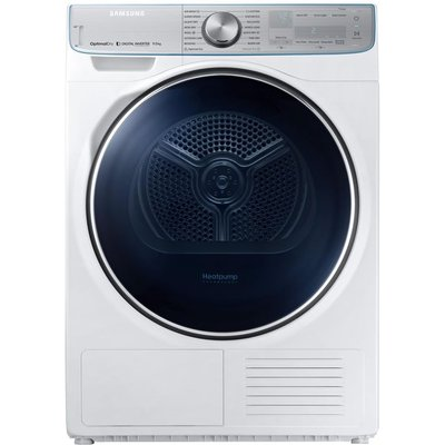 Samsung Tumble Dryer DV90N8289AW/EU Smart 9 kg Heat Pump  - White, White