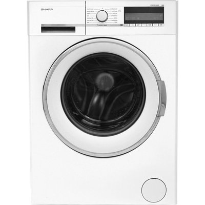 SHARP ES-GFC8144W3 Washing Machine - White, White