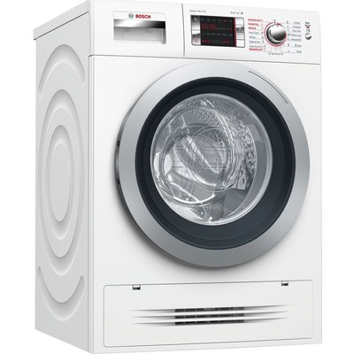 BOSCH Serie 6 WVH28424GB 7 kg Washer Dryer - White, White