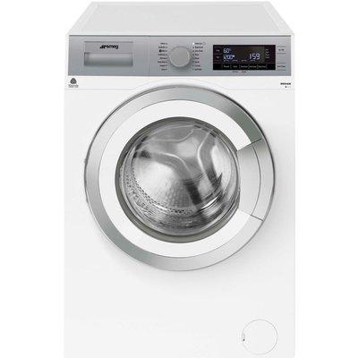 SMEG WHT814LUK 8 kg 1400 Spin Washing Machine - White, White