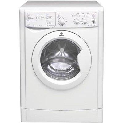 Indesit Washer Dryer IWDC6125  - White, White