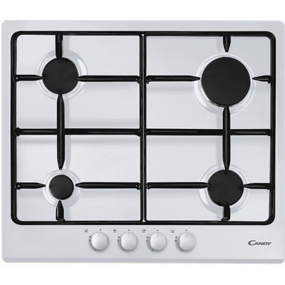 CANDY  CPG64SPB Gas Hob   White  White - 8016361824478