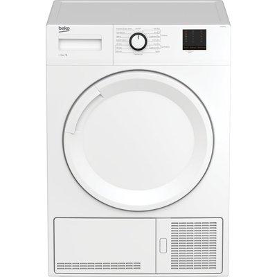 Beko Tumble Dryer DTBC9001W 9 kg Condenser  - White, White