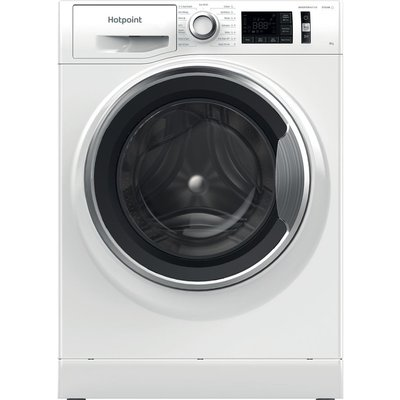 HOTPOINT Activecare NM11 844 WC A UK N 8 kg 1400 Spin Washing Machine - White, White