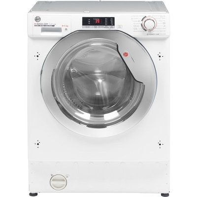 HOOVER H-WASH 300 Lite HBDS485D2ACE Integrated 8 kg Washer Dryer, White