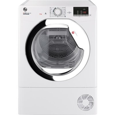 HOOVER H-Dry 300 HLE H9A2DCE WiFi-enabled 9 kg Heat Pump Tumble Dryer - White, White