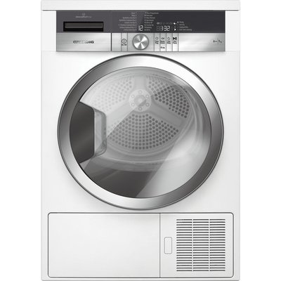 Grundig Tumble Dryer GTN39250CGCW Heat Pump  - White, White