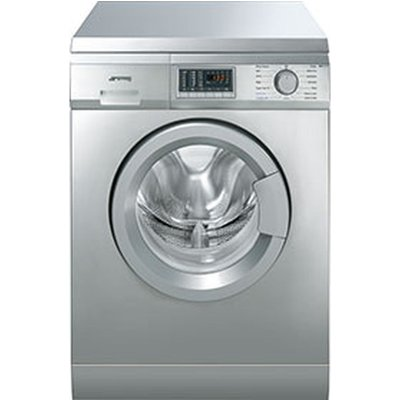 SMEG Washer Dryer WDF147X  - Stainless Steel, Stainless Steel