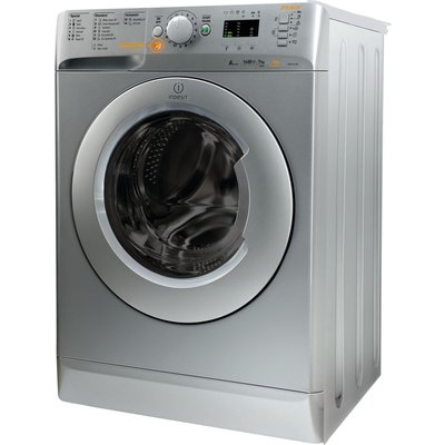 Indesit Washer Dryer Innex XWDE751480XS  - Silver, Silver