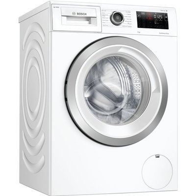 BOSCH Serie 6 i-DOS WAU28PH9GB WiFi-enabled 9 kg 1400 Spin Washing Machine - White, White