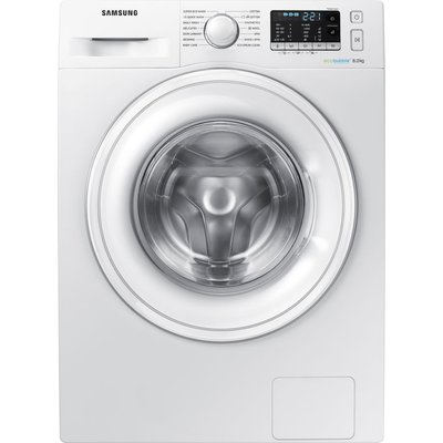 Samsung ecobubble WW80J5555DW 8 kg 1400 Spin Washing Machine - White, White