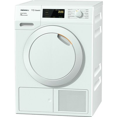 Miele Tumble Dryer Active Family TDD230 8 kg Heat Pump  - White, White
