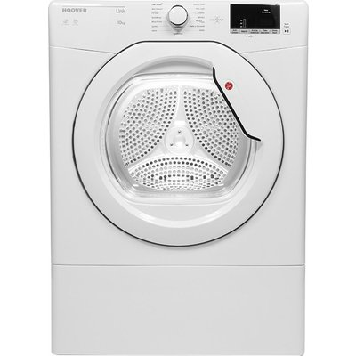 HOOVER Link HLV10DG NFC 10 kg Vented Tumble Dryer - White, White