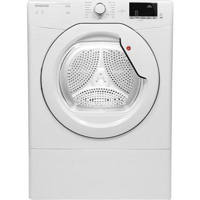 HOOVER Link HLV10DG NFC 10 kg Vented Tumble Dryer - White, White