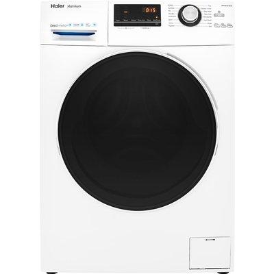 HAIER HW100-B14636 10 kg 1400 Spin Washing Machine - White, White