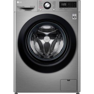 LG AI DD V3 F4V309SSE 9 kg 1400 Spin Washing Machine - Graphite, Graphite