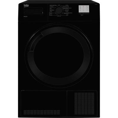 Beko Tumble Dryer DTGC8000B 8 kg Condenser  - Black, Black