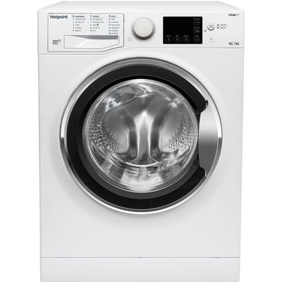 HOTPOINT Coreu0026tradeRDGR 9662 WS UK N 9 kg Washer Dryer - White, White