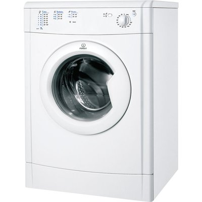 Indesit Tumble Dryer IDV75 Vented  - White, White