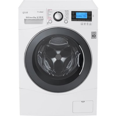 LG FH495BDS2 Smart Washing Machine - White, White