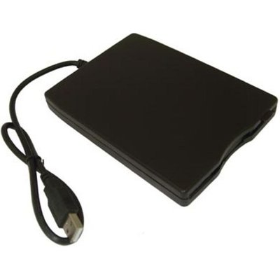 DYNAMODE External USB Floppy Disc Drive   Black  Black - 8400800008169