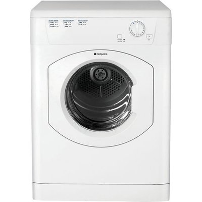 Hotpoint Tumble Dryer FETV60CP Vented  - White, White