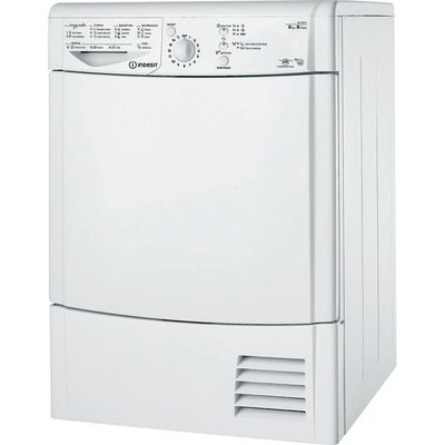 Indesit Tumble Dryer IDCL85BH Condenser  - White, White