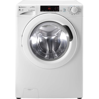 CANDY GCSW 485T NFC 8 kg Washer Dryer - White, White
