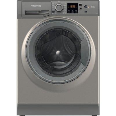 HOTPOINT NSWR 742U GK UK 7 kg 1400 Spin Washing Machine - Graphite, Graphite