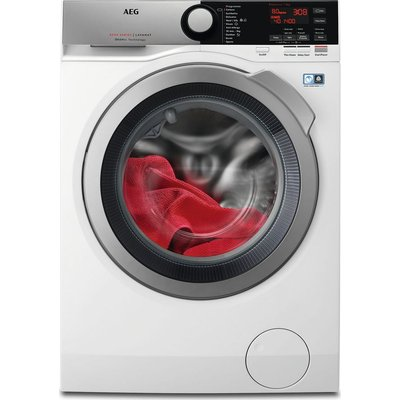 AEG ÖKOMix 8000 L8FEE845R 8 kg 1400 Spin Washing Machine - White, White