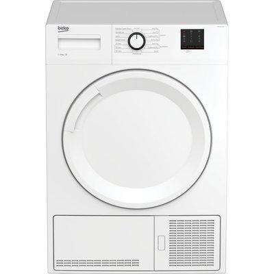 Beko Tumble Dryer DTBC1001W 10 kg Condenser  - White, White