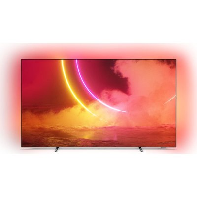 """55"""" PHILIPS 55OLED805  Smart 4K Ultra HD HDR OLED TV with Google Assistant, Black"""