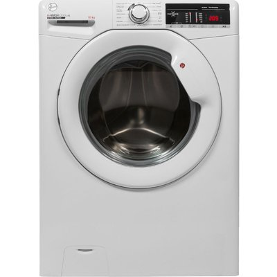 HOOVER H-Wash 300 H3W410TE NFC 10 kg 1400 Spin Washing Machine - White, White