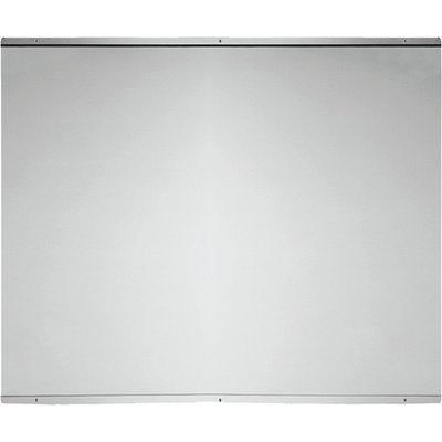 5055205053974: Baumatic BSB9 1SS 90cm Wide Full Height Splashback in Stainless Steel