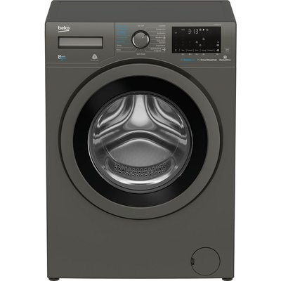 Pro WDX850130G Bluetooth 8 kg Washer Dryer - Graphite, Graphite