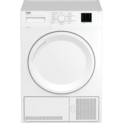 BEKO DTKCE80021W 8 kg Condenser Tumble Dryer - White, White