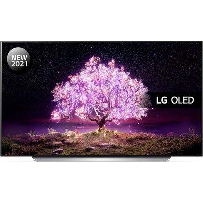 "77"" LG OLED77C15LA  Smart 4K Ultra HD HDR OLED TV with Google Assistant & Amazon Alexa"