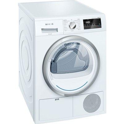 Siemens Tumble Dryer WT45H200GB Heat Pump  - White, White