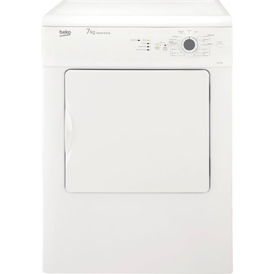 Beko Tumble Dryer DSV74W 7 kg Vented  - White, White