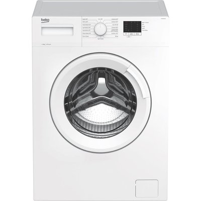 BEKO WTK82011W 8 kg 1200 Spin Washing Machine - White, White