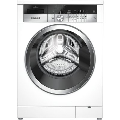 GRUNDIG GWN49460CW Washing Machine - White, White