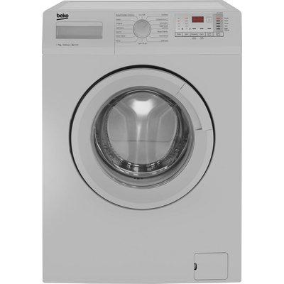 BEKO WTG741M1S 7 kg 1400 Spin Washing Machine - Silver, Silver