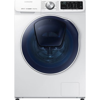 Samsung Washer Dryer WD80N645OOW/EU Smart 8 kg  - White, White