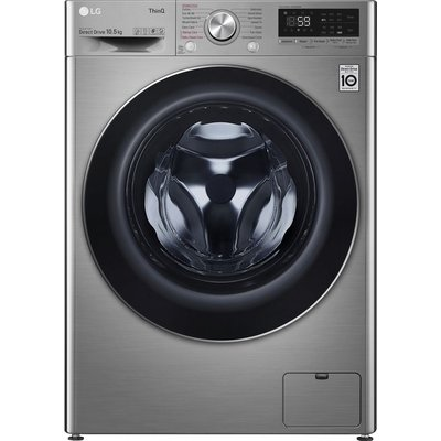 LG TurboWash with AI DD V7 F4V710STSE WiFi-enabled 10.5 kg 1400 Spin Washing Machine - Graphite, Graphite